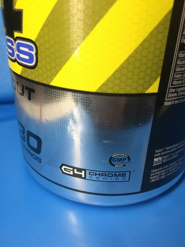 Cellucor C4 Mass Pre-workout Energy Mass 30 serving Icy Blue Razz PAST DATE DEAL 4