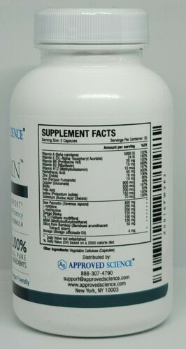 Approved Science Hairprin Natural Hair Support Supplement 60 Capsules New 09/23 1
