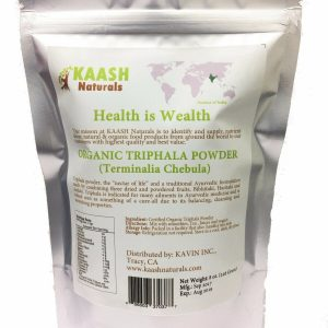 TRIPHALA POWDER 100% Natural Raw,Gluten Free,USDA Certified Organic 1