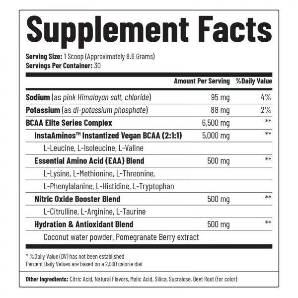 BCAA Powder | Nitric Oxide Booster  Essential Amino Acids Pomegranate Watermelon 2