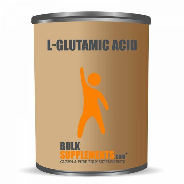 BulkSupplements.com L-Glutamic Acid 6
