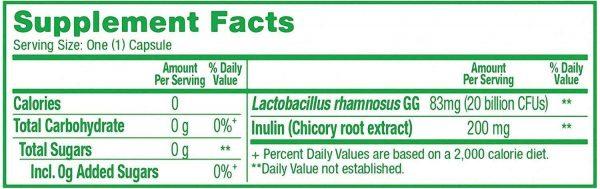 BULKPROBIOTICS Culturelle 20 Billion CFU Ultimate Strength Probiotic VEGAN 1