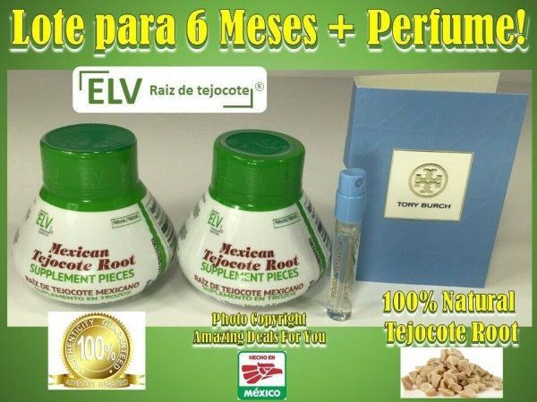 ELV Raiz de tejocote 100% ORIGINAL 90 micro-dosis 3 meses Nuevo empaque