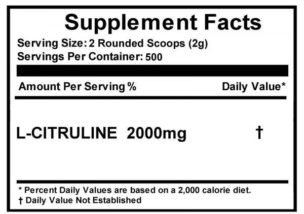 L-CITRULLINE Powder -Pure -Increase Performance -NON GMO -All Sizes 4