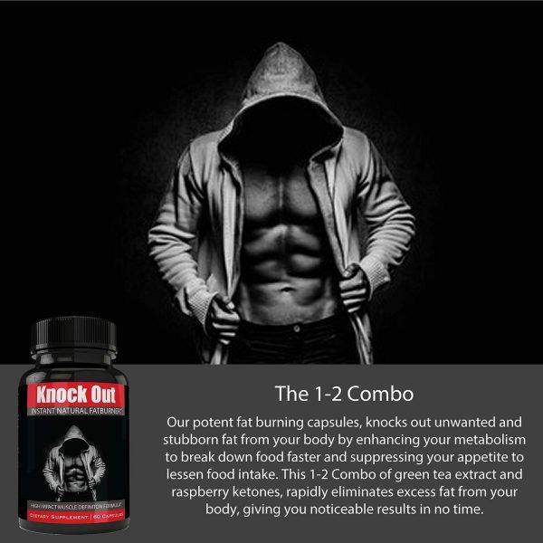 Instant Knockout Fat Burner Diet Supplement Pill for Men and Women - High Imp... 3
