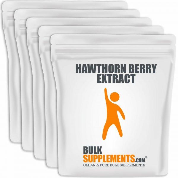 BulkSupplements.com Hawthorn Berry Extract 5
