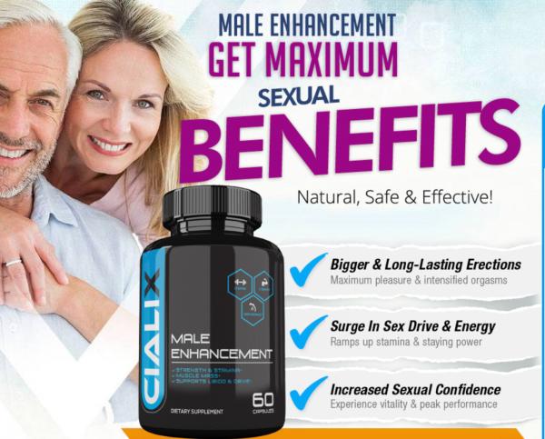 Cialix Male Enhancement Supplement Enhancing Pills for Men 1 Month Supply 1