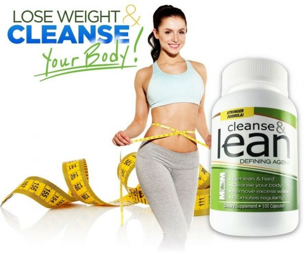 Max Cleanse & Lean Dietary Supplement 100 caps