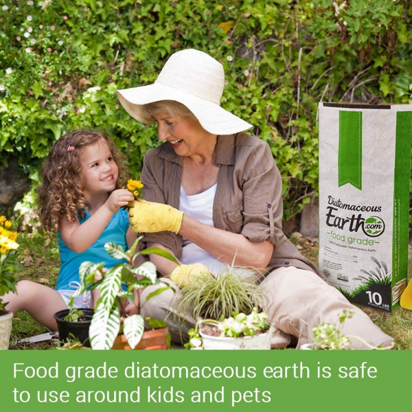 5 LBS Diatomaceous Earth - 100% Organic Food Grade Diamateous Earth Powder 3