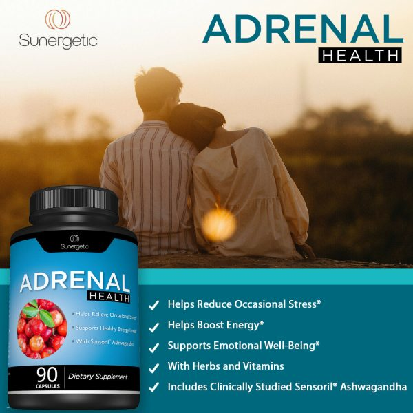 Adrenal Support Supplement - Supports Healthy Adrenal Function-90 Capsules 3