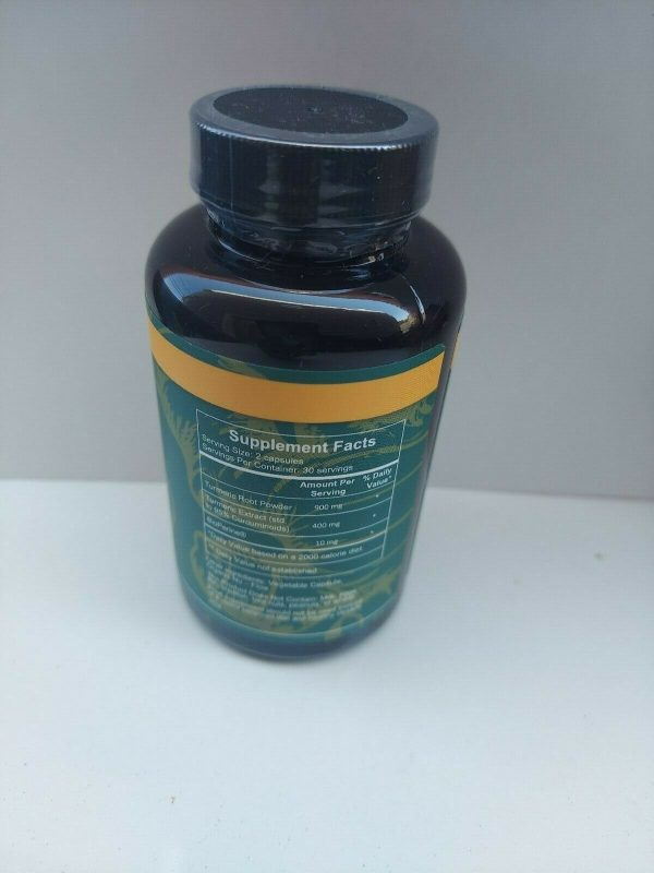 Primal harvest turmeric complex 60 capsules FREE SHIPPING 1
