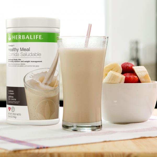 Herbalife Formula 1 - Nutritional Shake Mix, Cookies and Cream 750g 1