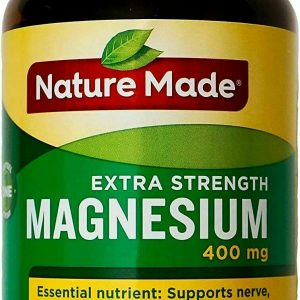 Nature Made Extra Strength Magnesium 400 mg 180 Softgels EXP 05/2021