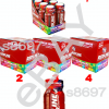 24 pk - VPX - REDLINE XTREME Shots -  SOUR HEADS