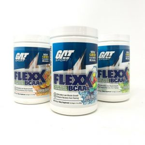 GAT FLEXX BCAA Plant Based Amino Energy Recovery Energy Best BCAA Xtend EX 12/20