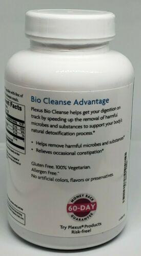Plexus Slim Bio Cleanse Detox New sealed 180 capsules Expires 10/22 *Free Ship* 2