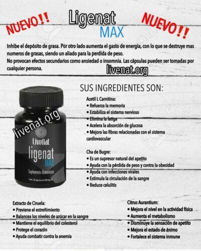 LIVENAT MAX CAPS 3