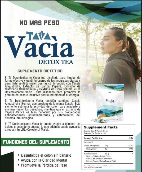 5, 10, 15 Day Detox (Vacia Detox Tea) 2