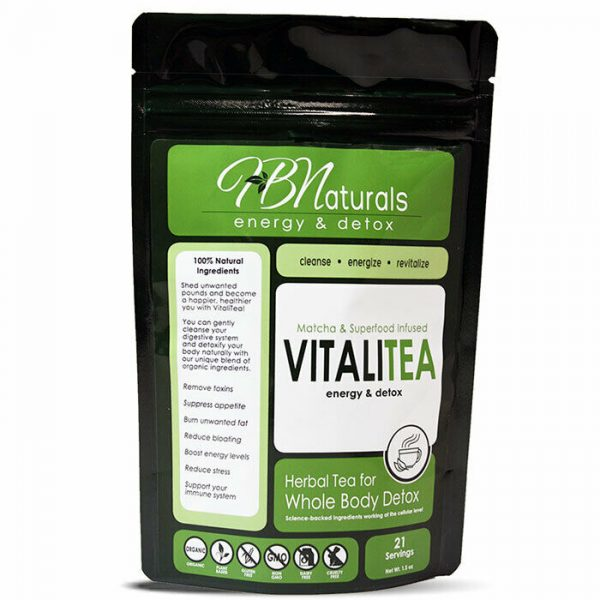 VITALITEA, Hydrate and Detox. One Of The Most Powerful Detox Teas Available!