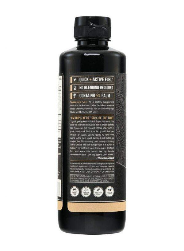 Emulsified MCT Oil - Almond Milk Latte (16oz) - Free Shipping 1