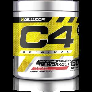 Cellucor C4 (60 Servings) Original Explosive Pre-workout Fruit Punch