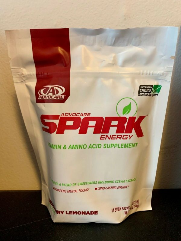 Advocare Spark 14 Stick Pouches - INDIVIDUALLY SEALED -15 flavors to choose from 1