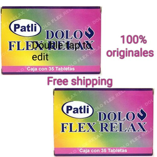 Dolo Flex Relax Patli alivia dolor o inflamacion for back, joints and other pain