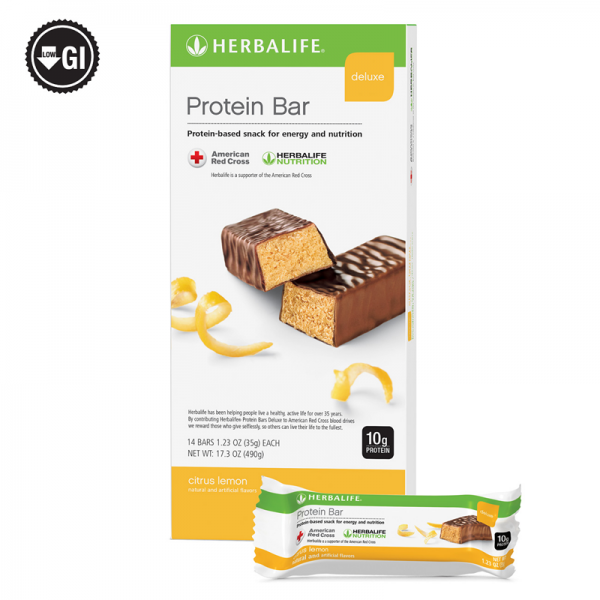 Herbalife Protein Bar Deluxe: 14 Bars per Box (ALL FLAVORS) , New Exp 2022 3