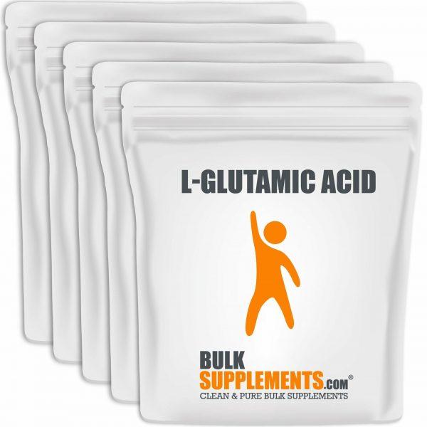 BulkSupplements.com L-Glutamic Acid 5