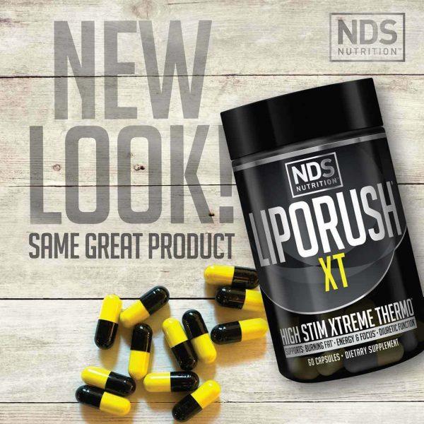 NDS  LipoRush  XT 60 Caps -----Free shipment  2