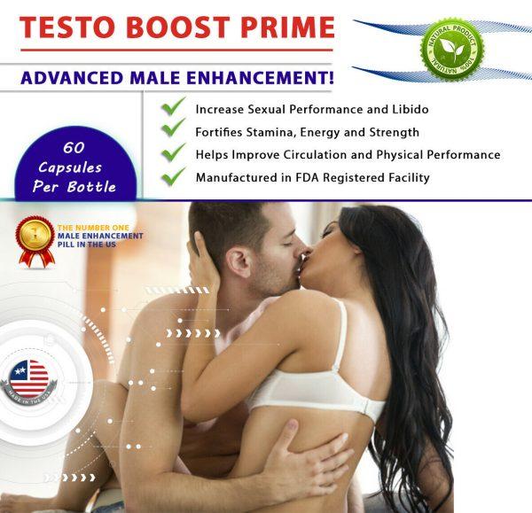 Testosterone Booster Male Enhancement,Pills,Improve Sex Stamina Performance 60ct 6