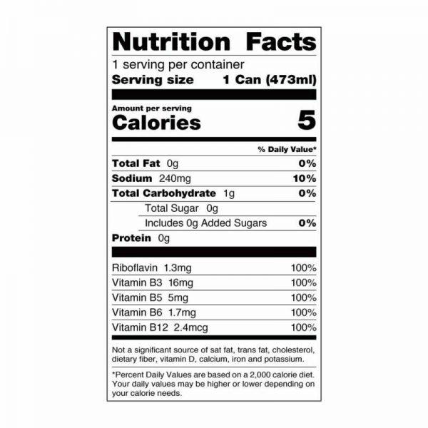 Rockstar Energy Drink, Sugar Free Original Formula 16oz Cans 12 Pack O.G. Flavor 6