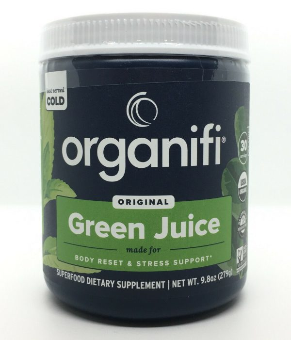 Organifi Green Juice Superfood Dietary Supplement 30 Day Supply Super Food NEW