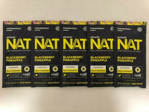 Pruvit Keto OS NAT Blackberry Pineapple 5,10 & 20 Packs Free Shipping 1
