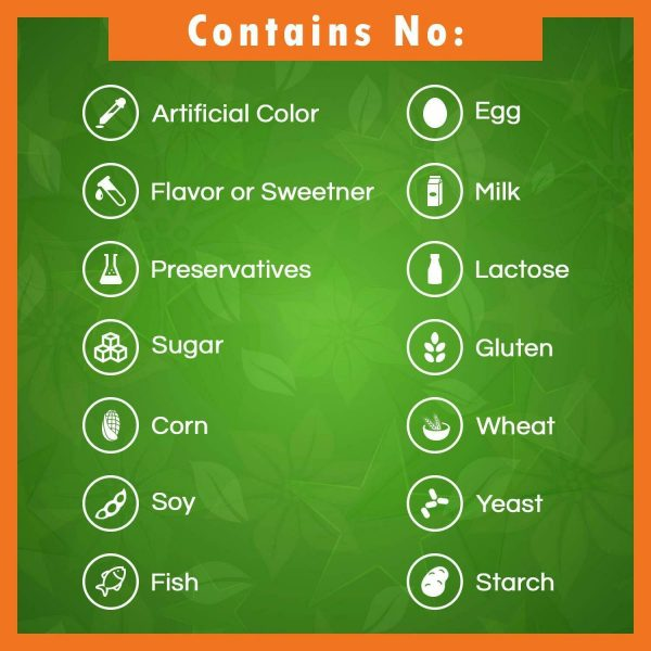 Best Naturals Quercetin 1000 mg/Serving 120 Veggie Capsules  2