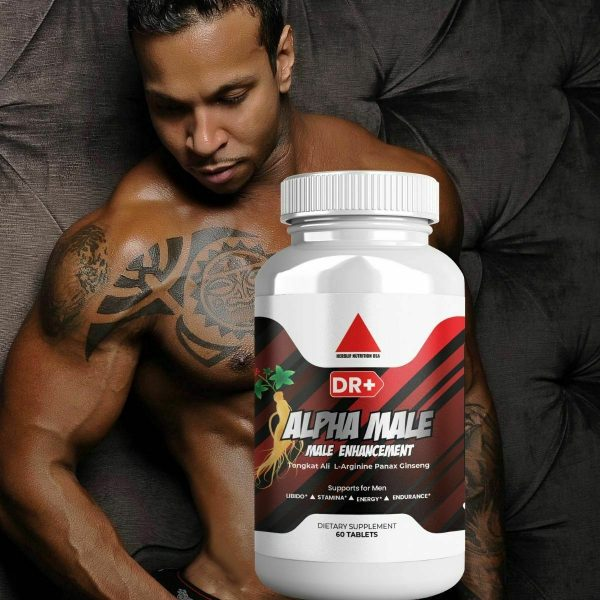 Alpha Male Testosterone Booster L Arginine, Maca, Ginseng Extract for Men 9