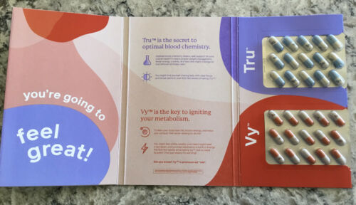 Truvy 7 Day Experience Kit ~ New ~ Sealed ~ 30 Capsules 2