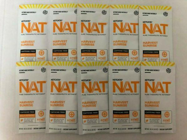 New Pruvit Keto OS NAT Harvest Sunrise 5,10 & 20 Packs  Free Shipping 4