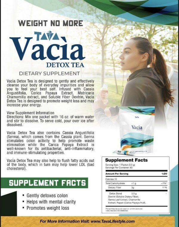 5, 10, 15 Day Detox (Vacia Detox Tea) 1