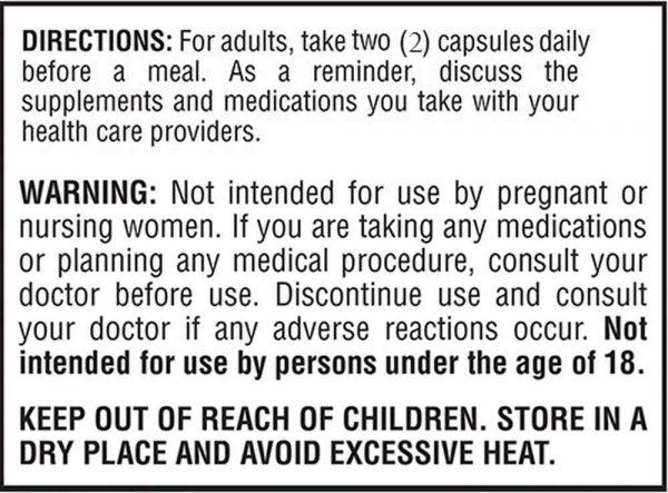 Pterostilbene 150 mg Per Serving 180 Capsules 90 Servings 2