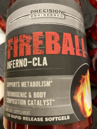 Precision Engineered Lot Of 2 Fireball Inferno-CLA 240 Rapid Release Softgels. 3