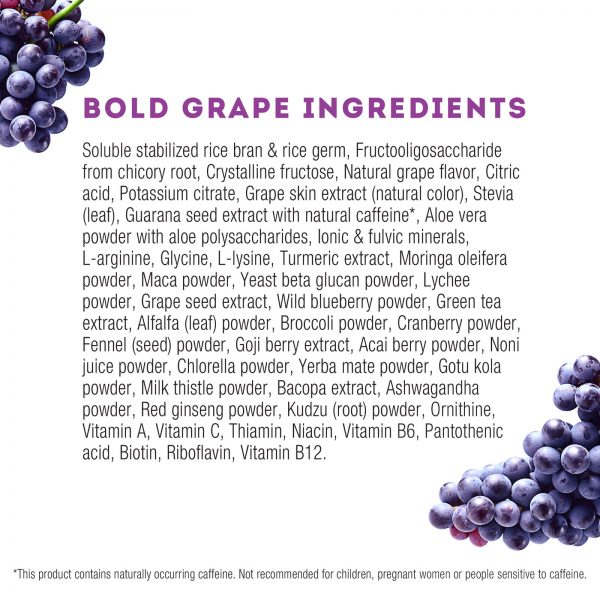 Zurvita- Zeal for Life- 30-Day Wellness Canister- Bold Grape 4