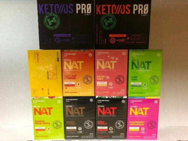 Pruvit Keto OS MAX NAT Ketones Various Flavors New Box Sealed FreeShipping!!! 1