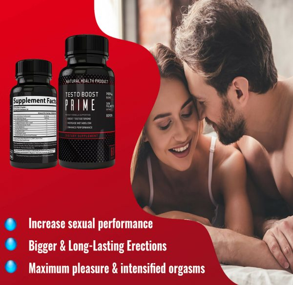Testosterone Booster Male Enhancement,Pills,Improve Sex Stamina Performance 60ct 9