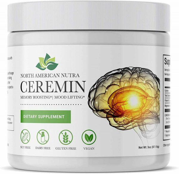 North America Nutra Ceremin Memory Boosting Mood Lifting
