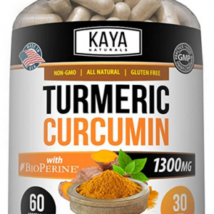 Turmeric Curcumin Bioperine, High Absorption Triple Strength Capsules Joint Pain 1