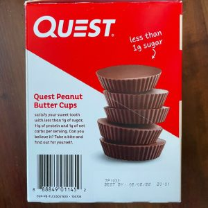 Quest Nutrition High Protein Gluten Free Peanut Butter Cups, 17.76 Oz, 24 Pack 1