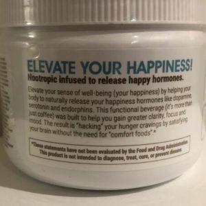 #1 ☕️Authentic Elevate Smart Happy Coffee Tub 30  Elevacity ☕️10/2021 Best By 1