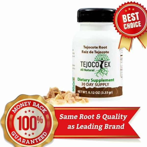 RAIZ DE TEJOCOTE ROOT 100% PURE GUARANTEED NATURAL 30 Day Supply Raiz Original 3