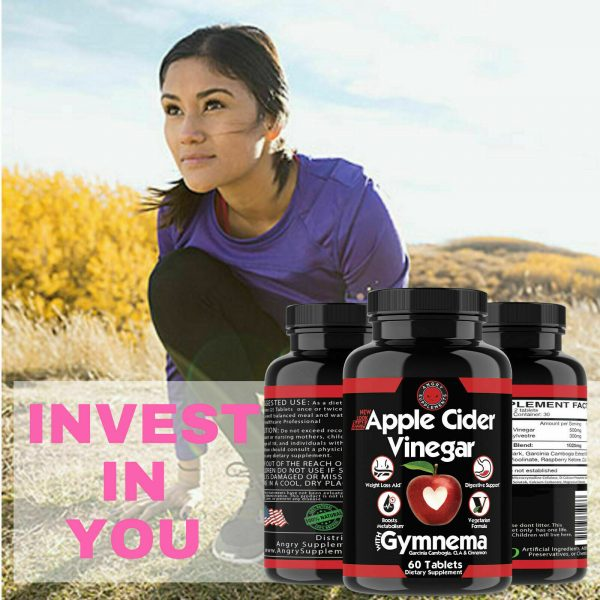 Weight Loss Apple Cider Vinegar w. Garcinia Pills ACV & CLA Fat Burner, 60 ct 1P 11